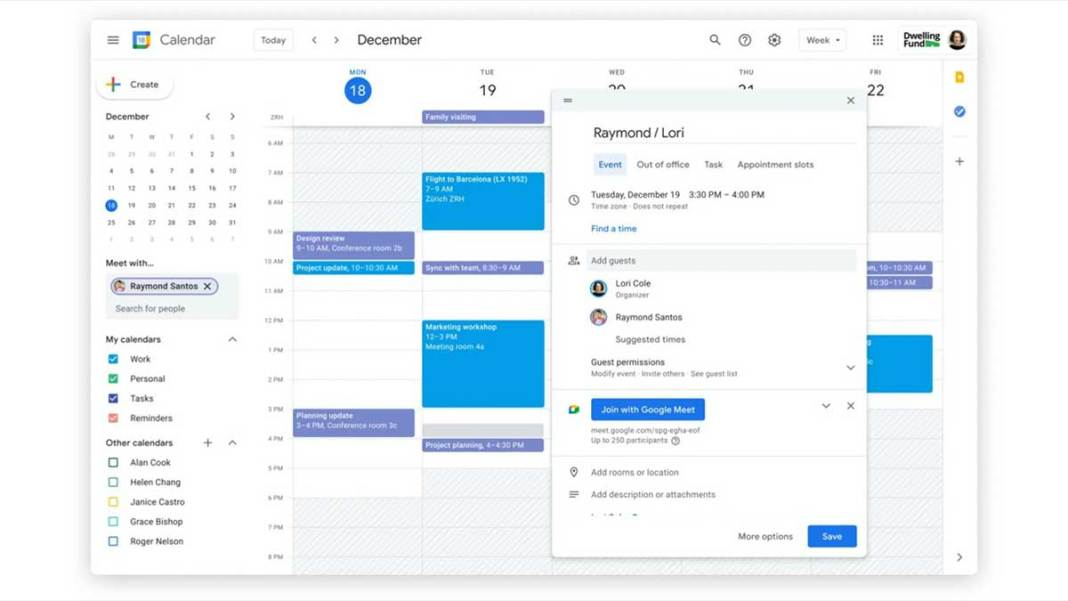 Google Calendar Makes It Easy To Take Notes In Meetings