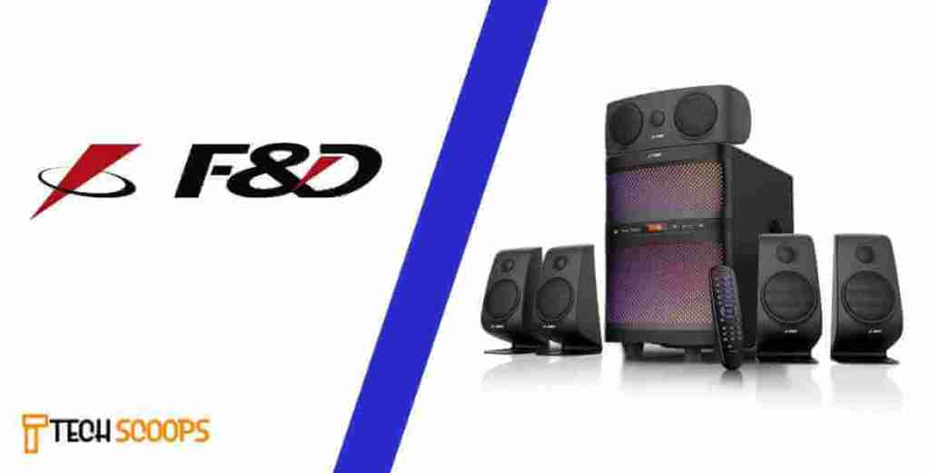 F&D makes some of the best dj speakers in india