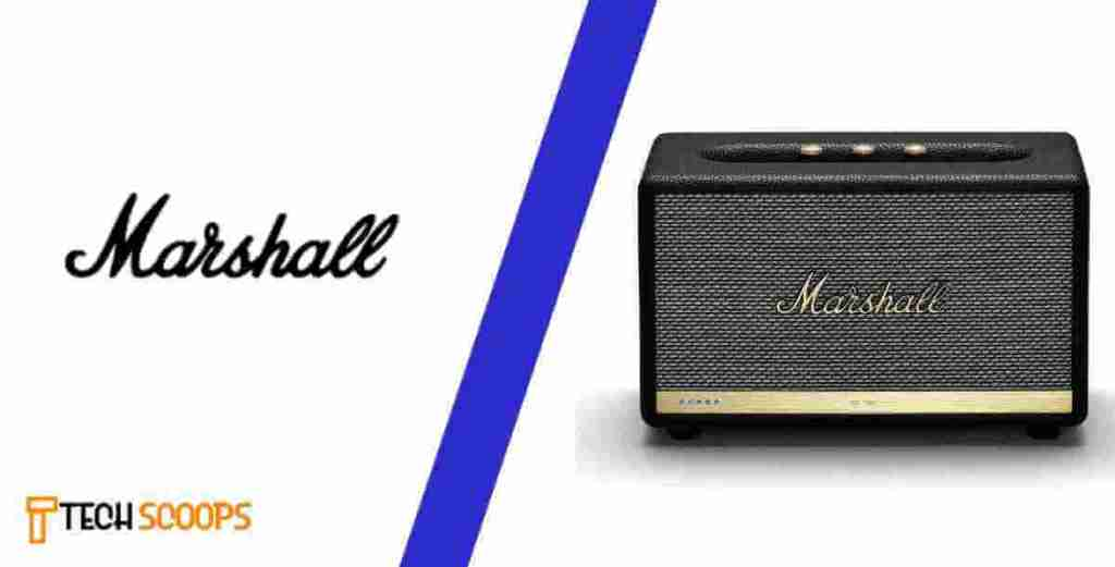 Marshall is one of the top  speaker brands in india