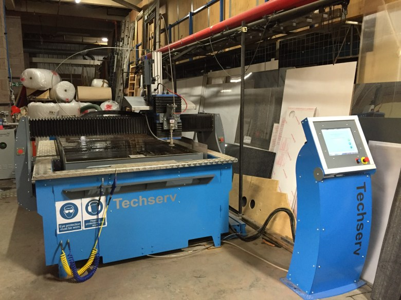 RSC waterjet