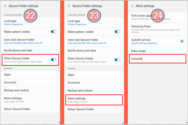 How-To-Uninstall-Secure-Folder