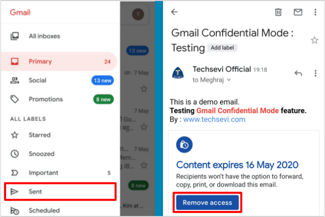 Remove-Access-Confidentail-Email