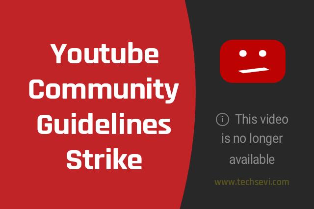 Youtube-Community-Guidelines-Strike-In-Hindi