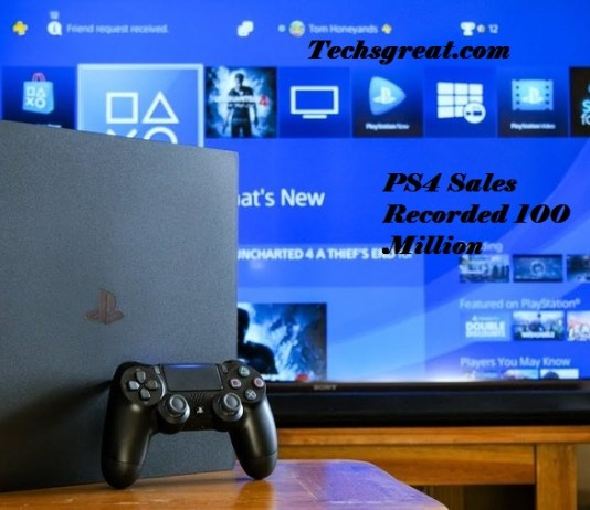 Sony PS4 Sales Record