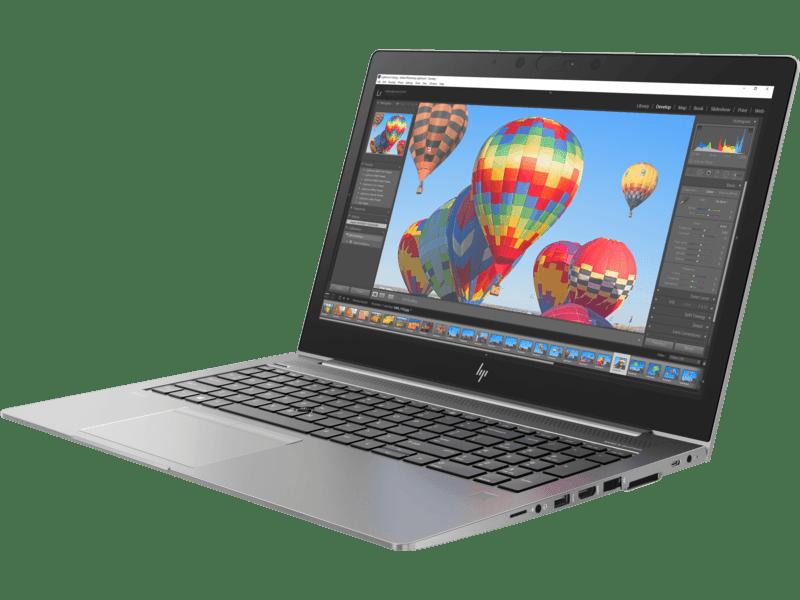 HP ZBook 15u G5 side