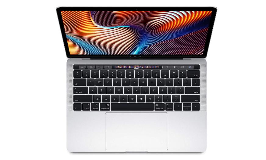 macbook pro 13 2019 up