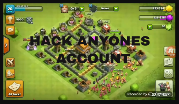 Clash of clans is a video game played worldwide on mobile or any other system