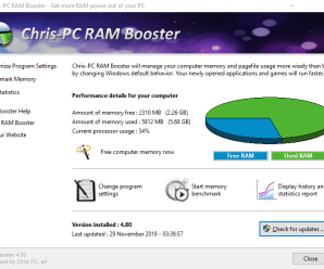 Chris-PC Ram Booster v4.80 Crack