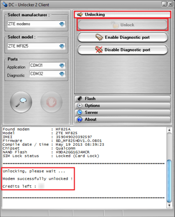 Unlock Jiofi or any Modem Using DC Unlocker