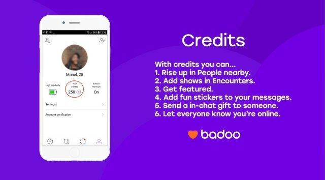 badoo mod apk unlimited credit