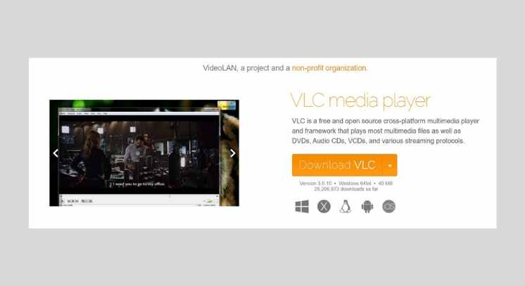 vlc media player official website image