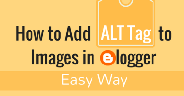 how to add alt text to images on blogger blog