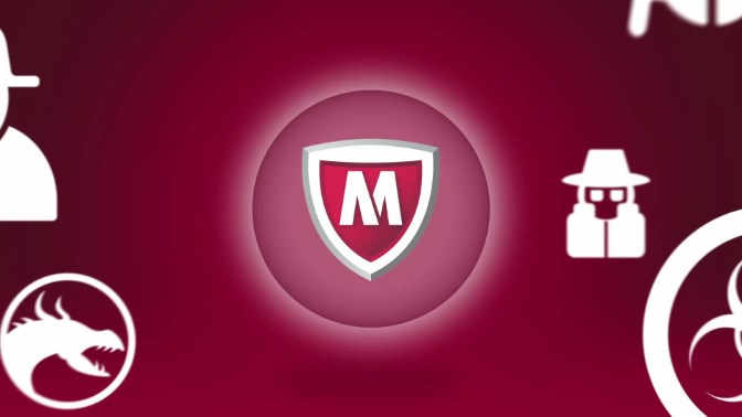 Mcafee antivirus for PC