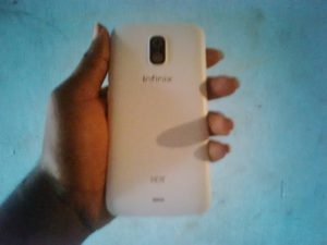 Infinix hot back view