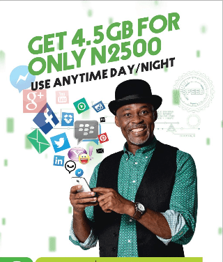 glo 4.5GB for N2500