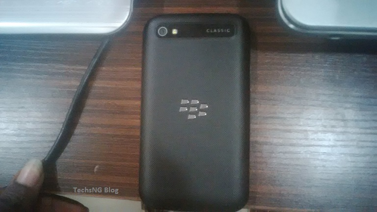 Blackberry classic Q20 back