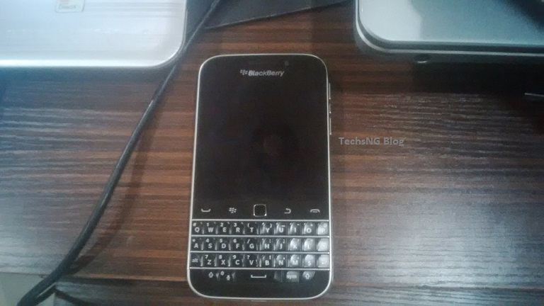 Blackberry Q20 Classic Front View