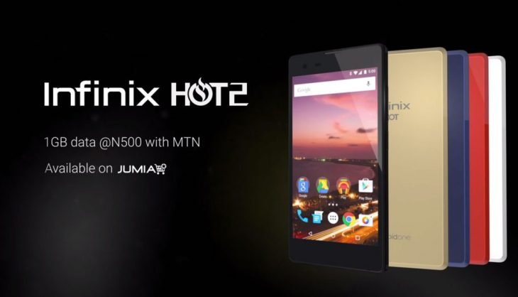 Infinix Hot 2 android One Phone Specs