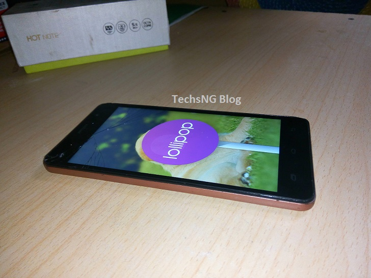 infinix hot note x551 running lollipop OS