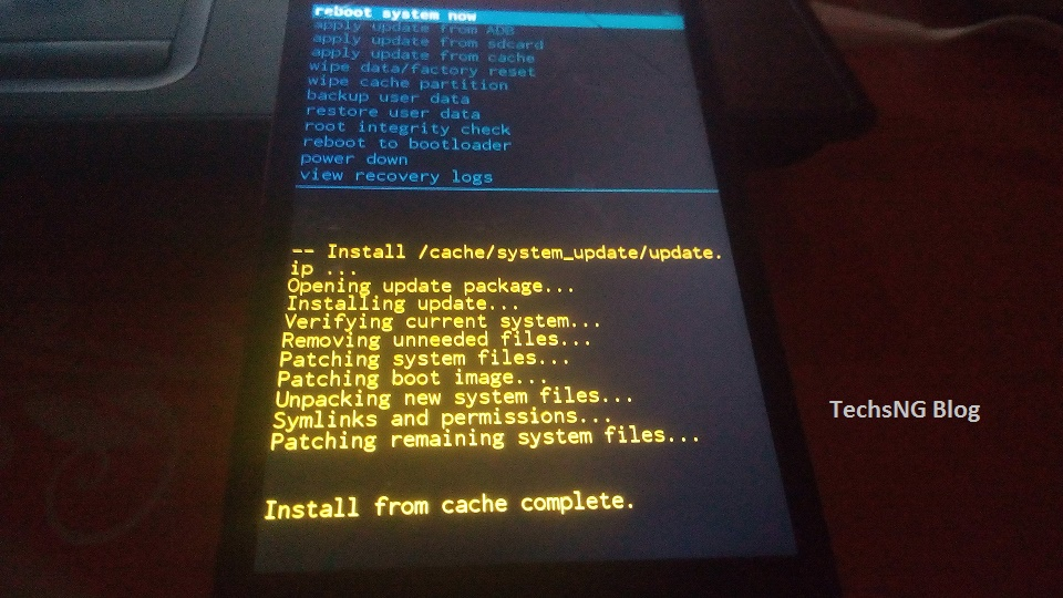 Infinix Software Update