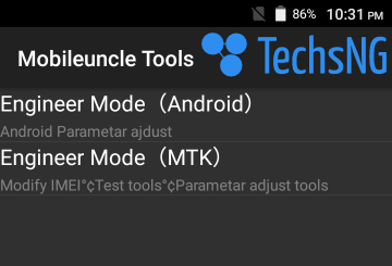 changing android imei number