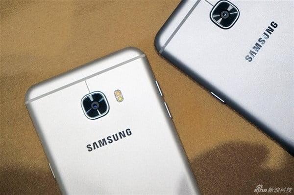 samsung galaxy c5 and c7 camera