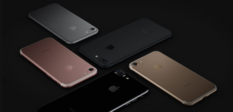 Apple iPhone 7 and 7 Plus color variants