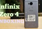 Infinix Zero 4 Unboxing