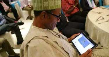 Buhari mobile app