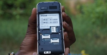 iMose Kampe II sim and memory card view