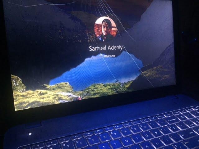 Logging into account on windows 10 PC