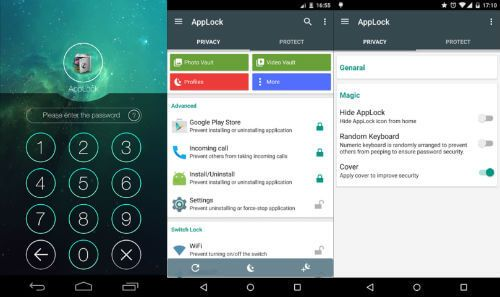 applock to hide apps on android phones