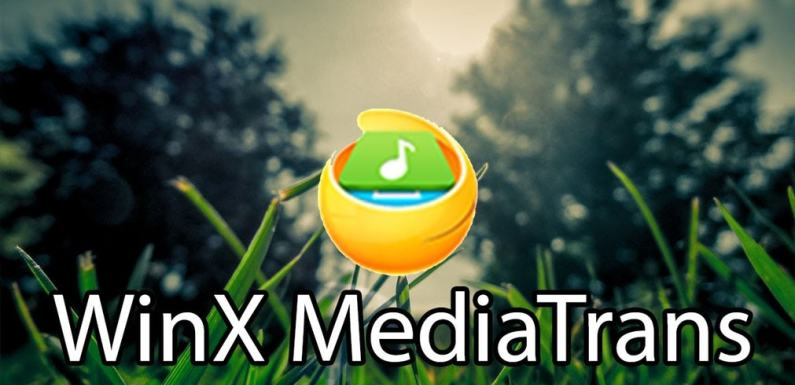 WinX Mediatrans transfer tool