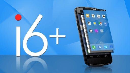 i6 Plus iOS Launcher