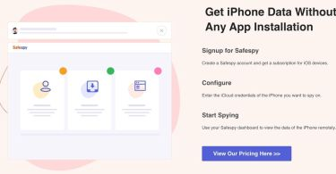 Install safespy on iPhone