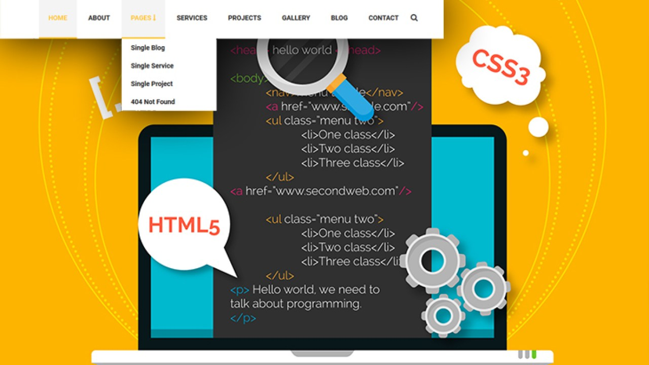 Create a smooth dropdown menu by HTML and CSS