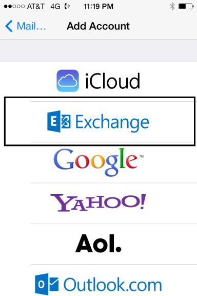 Exchange Account