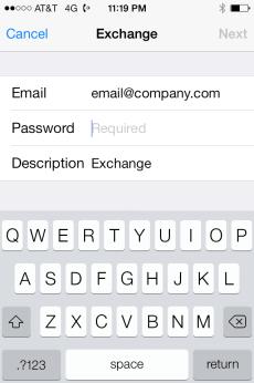 Email Address Info
