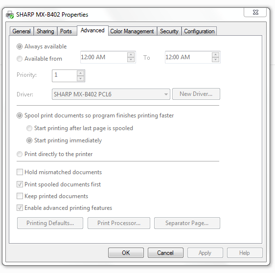 How to fix grayed out Printer Properties | techspeeder