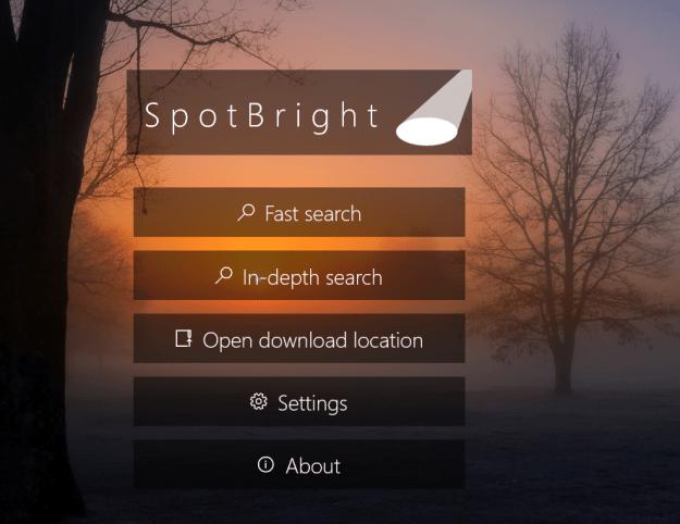 SpotBright App