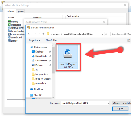 How to Install macOS Mojave on VMware on Windows – TechSpite