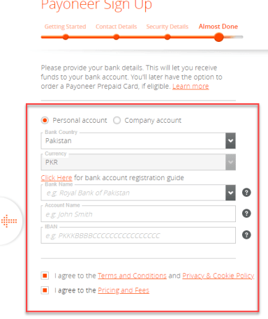 How To Make Payoneer Account in Pakistan