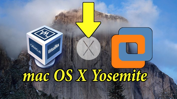 Download mac OS X Yosemite VirtualBox and VMware Image