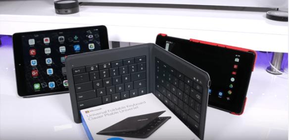 Top 5: Best Waterproof Bluetooth Foldable Keyboards in 2017