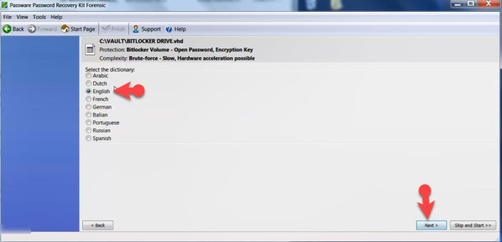 How To Break BitLocker Password And Disable It- Language