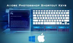 Adobe Photoshop Shortcut keys for Photographer
