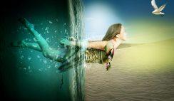 Photoshop tutorials design underwater manipulation