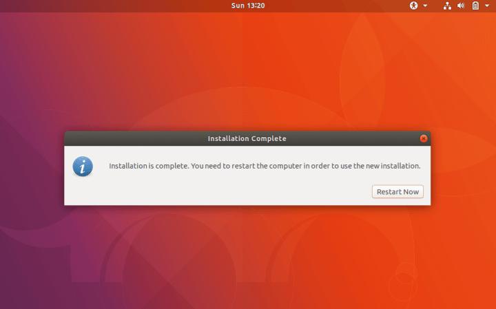 Restart Ubuntu