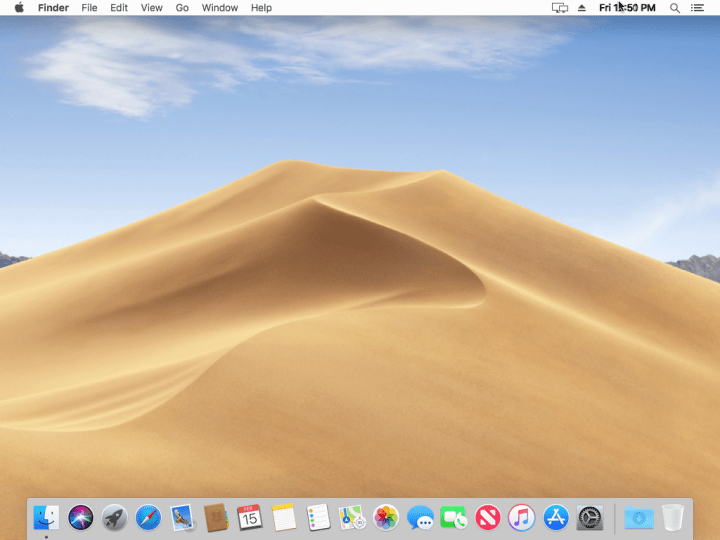 Wallpaper of MacOS 10.14 Mojave