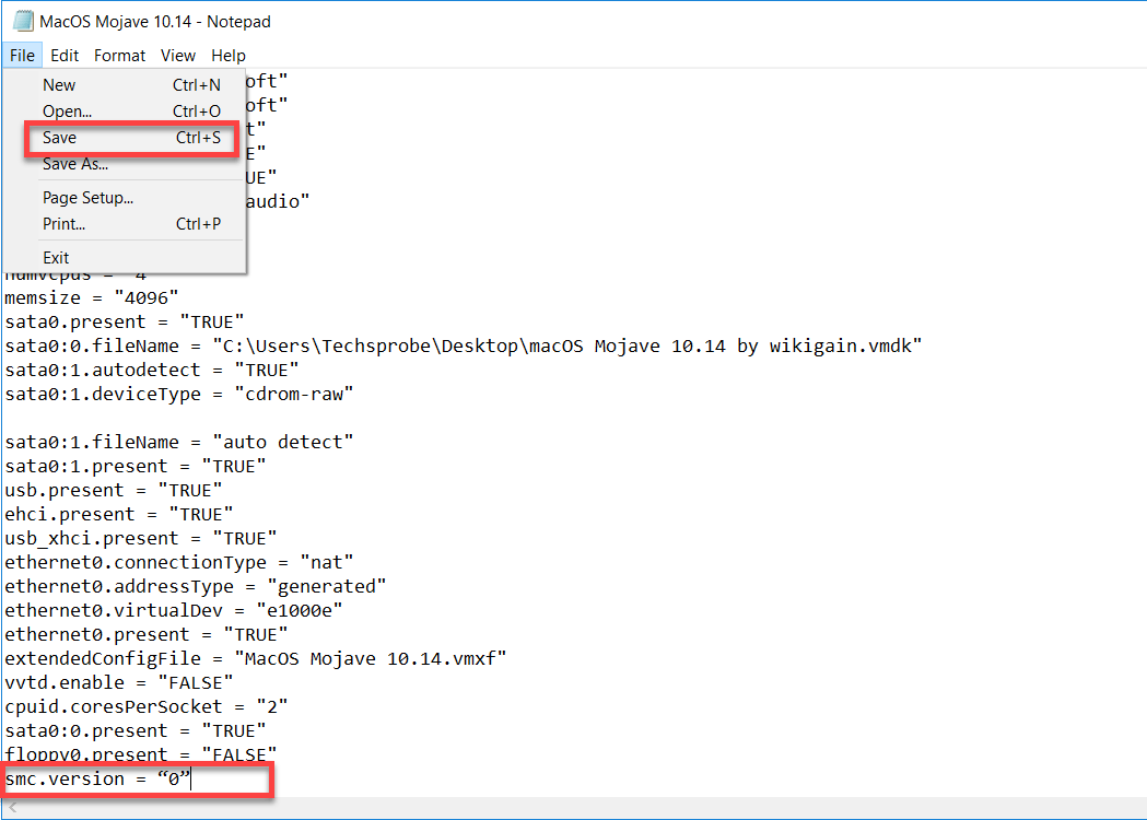 VMX file editor